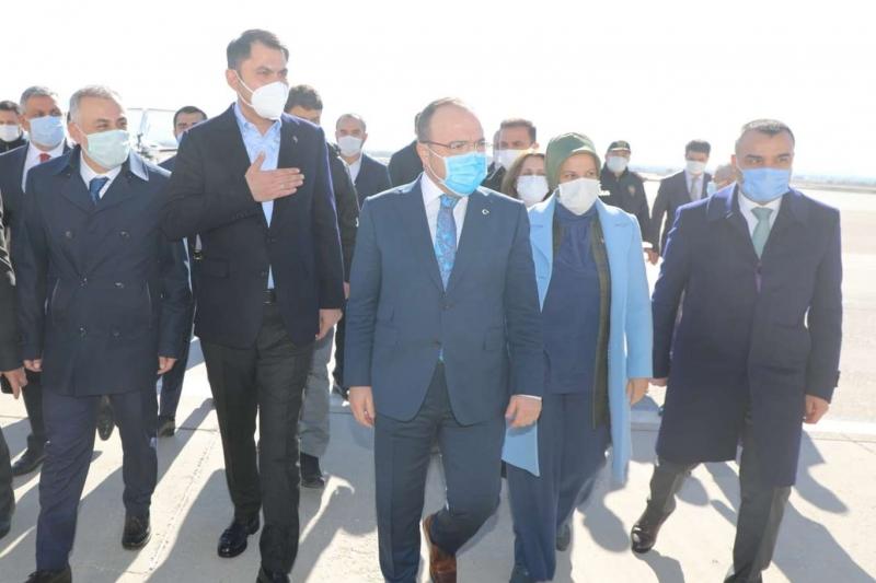 Bakan Kurum Elazığ'da