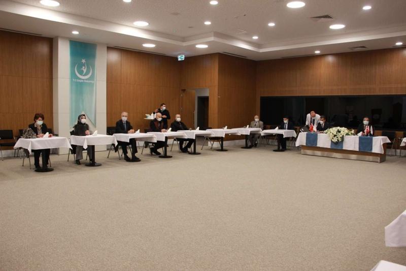 Elazığ'da Covid- 19 aşı uygulaması toplantısı düzenlendi