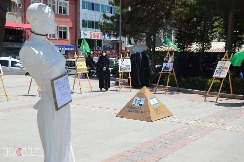 HÜDA PAR Elazığ Kadın Kolları Mısır'daki idam kararlarını konu alan fotoğraf sergisi açtı