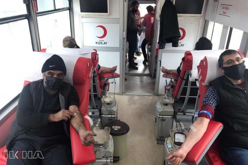 Kızılay Kovancılar`da kan bağışı kampanyası düzenledi