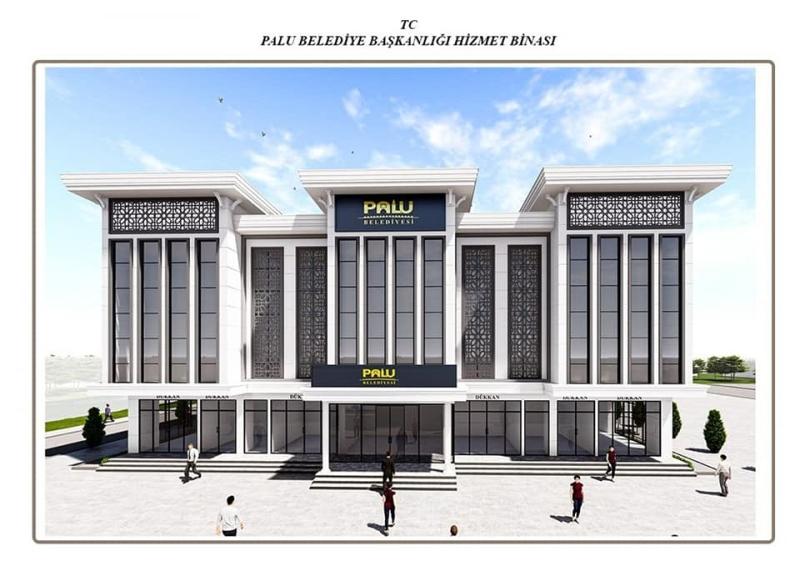 Palu`ya Yeni Belediye Binası Yapılacak